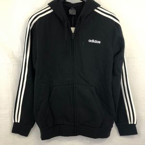 Adidas Mens Fleece Zip-up Hoodie
